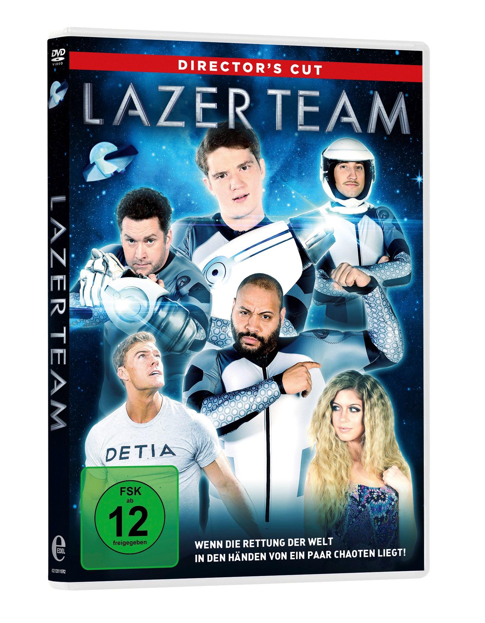 Review - LAZER TEAM - DVD Packshot