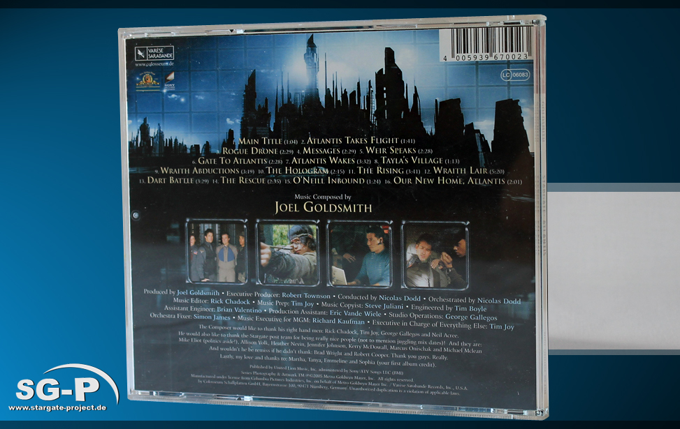 Soundtrack Stargate Atlantis 2