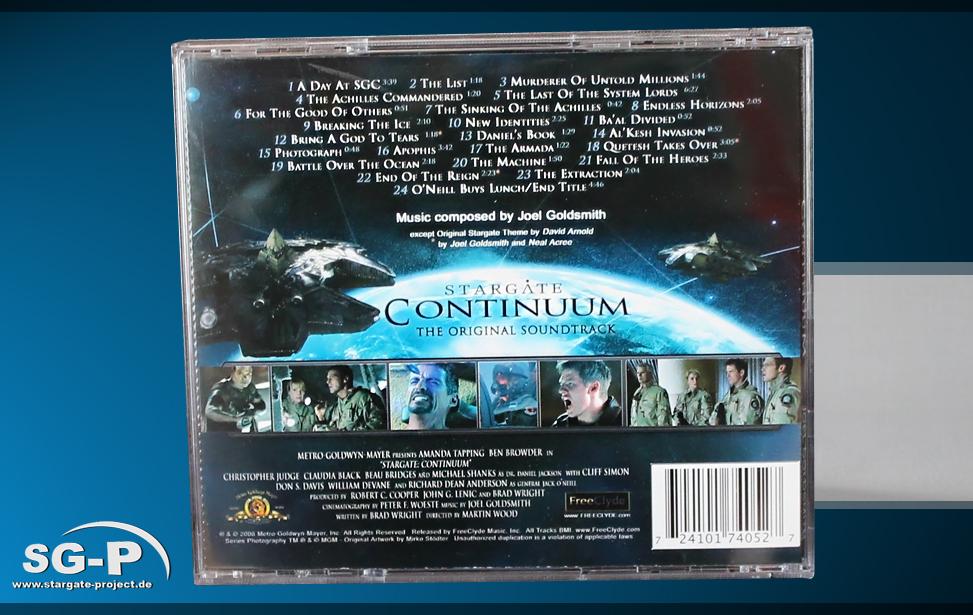 Soundtrack Stargate Continuum 2