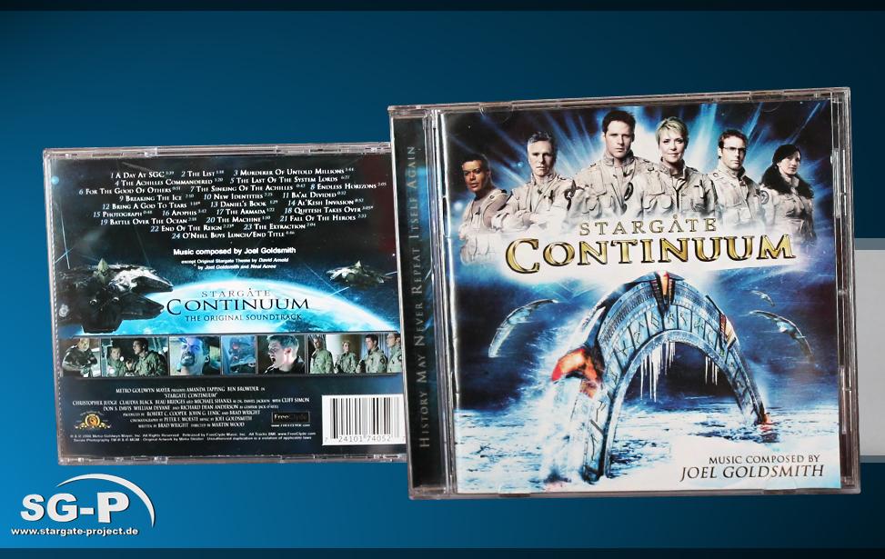 Soundtrack Stargate Continuum - Teaser