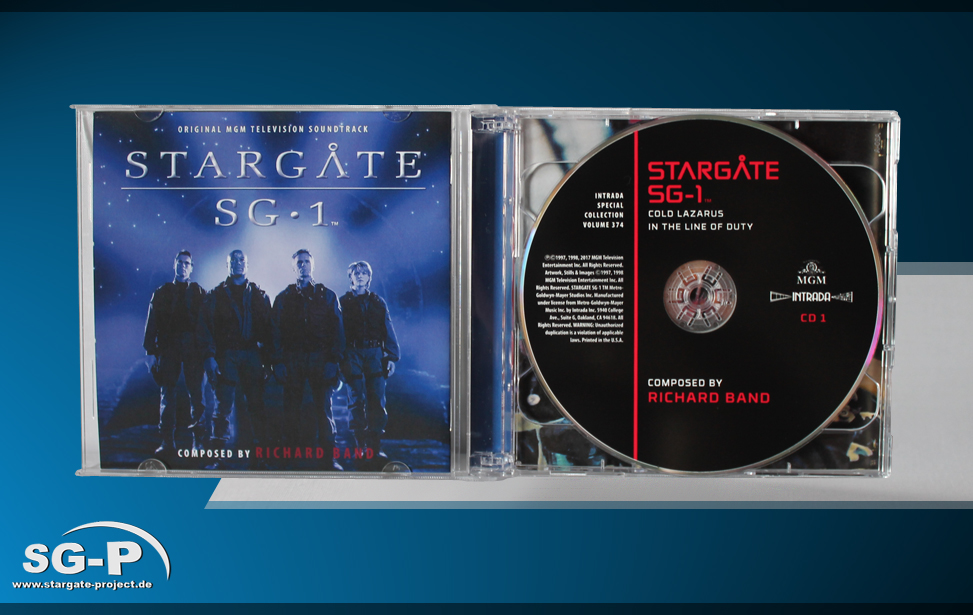 Soundtrack - Stargate SG-1 Music from selected episodes - 4