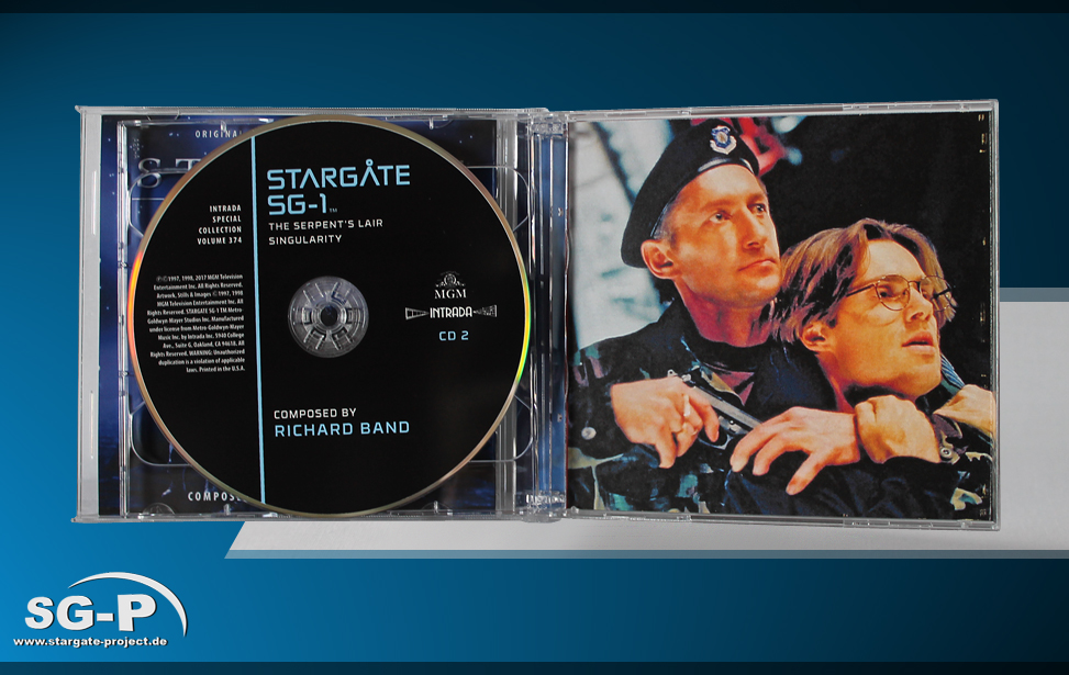Soundtrack - Stargate SG-1 Music from selected episodes - 5
