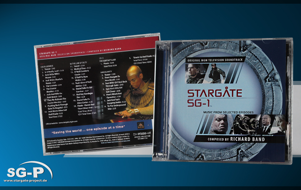 Teaser - Soundtrack - Stargate SG-1 Music from selected episodes
