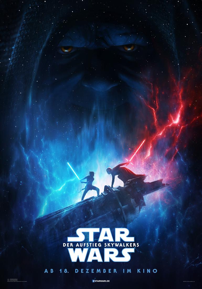 Star Wars - Der Aufstieg Skywalkers - Teaser Poster