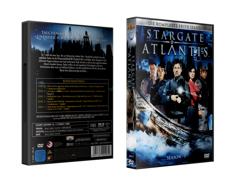 Stargate: Atlantis Staffelboxen Staffel 1 Budget