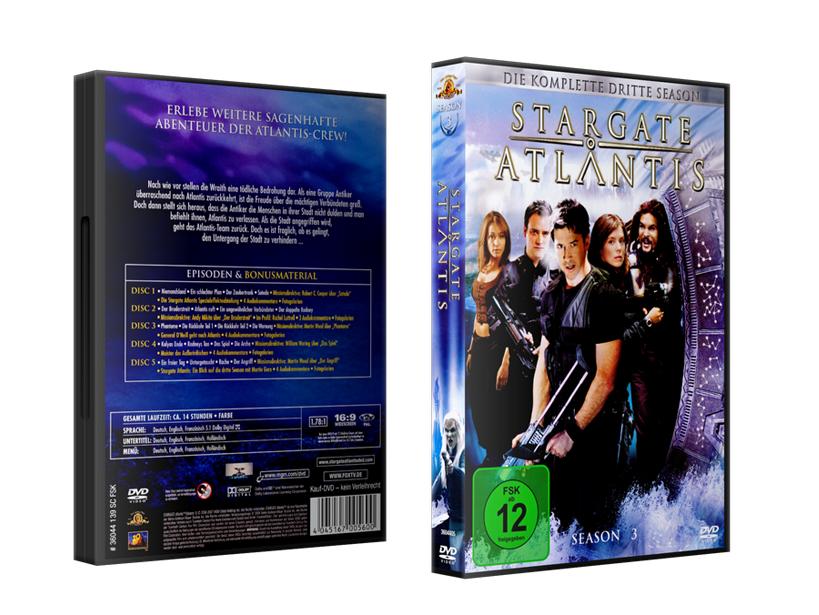 Stargate: Atlantis Staffelboxen Staffel 3 Budget