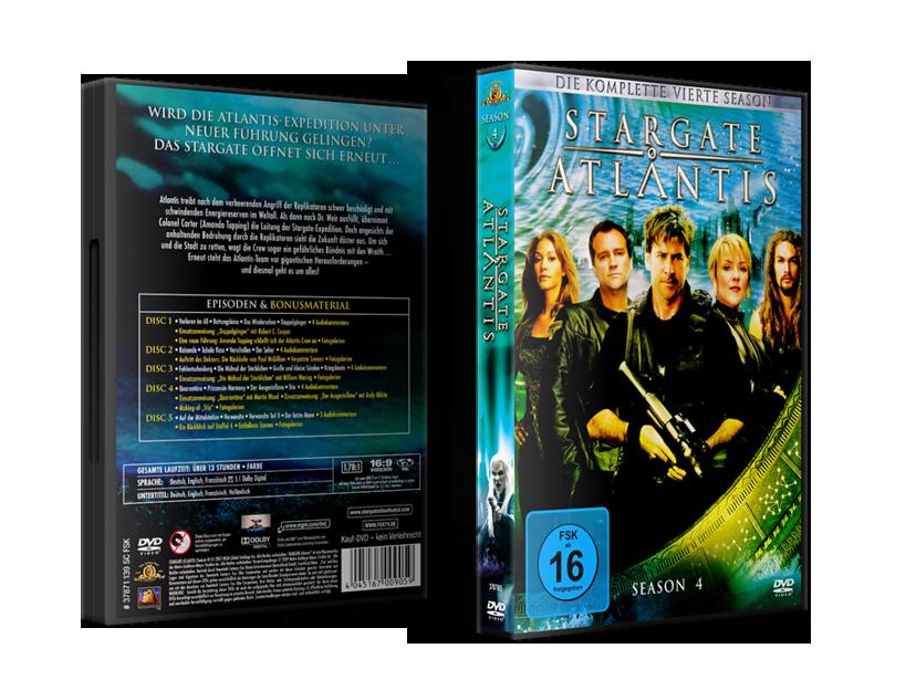 Stargate: Atlantis Staffelboxen Staffel 4 Budget