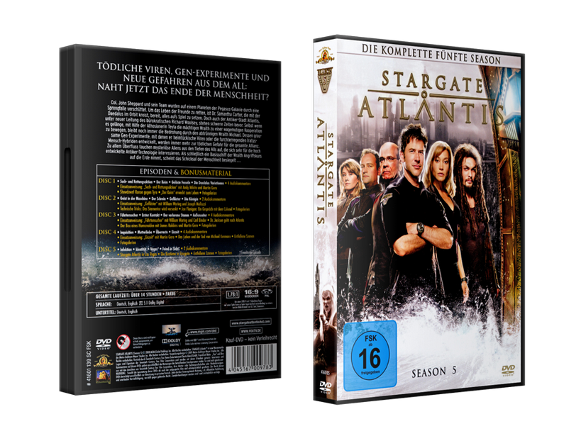 Stargate: Atlantis Staffelboxen Staffel 5 Budget
