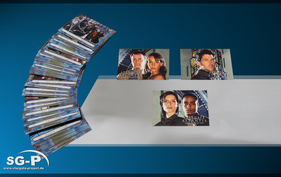Stargate: Atlantis Trading Cards Season 1