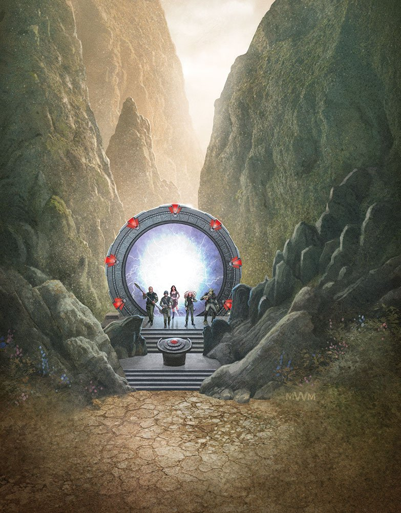 Stargate Roleplaying Game Core Rulebook - Wyvern - 002