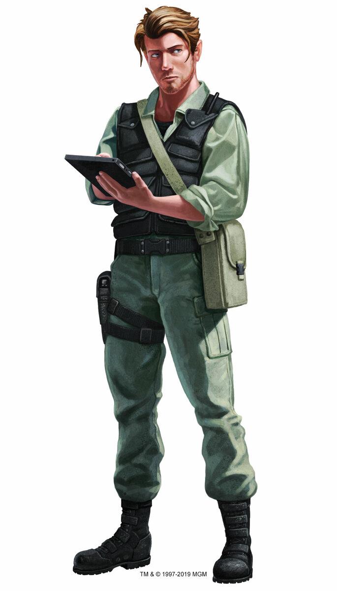 Stargate Roleplaying Game - Wyvern - 003