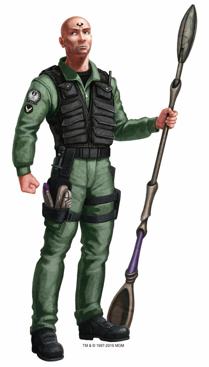 Stargate Roleplaying Game - Wyvern - 004