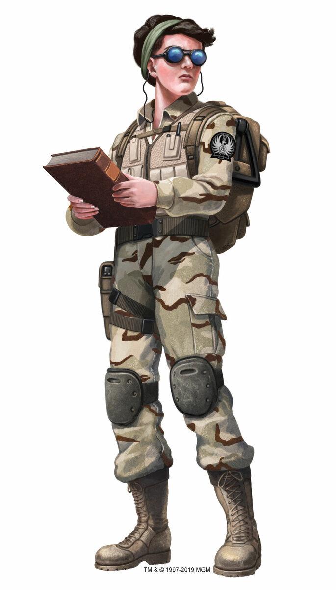 Stargate Roleplaying Game - Wyvern - 008