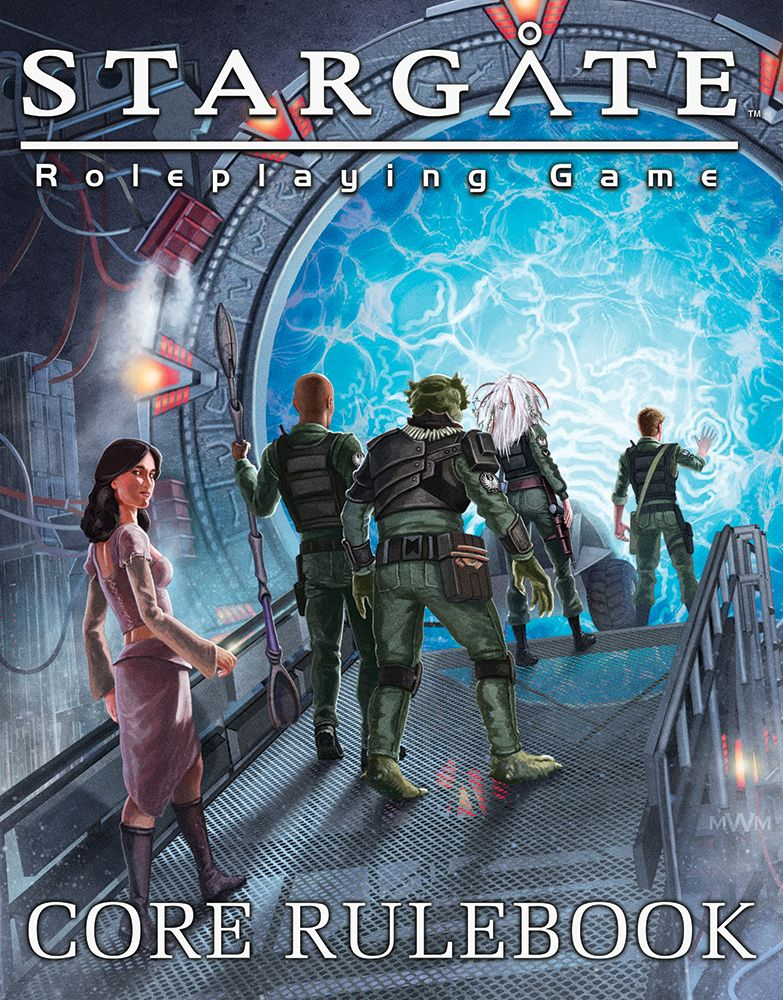 Stargate Roleplaying Game - Wyvern Gaming - Core Rulebook