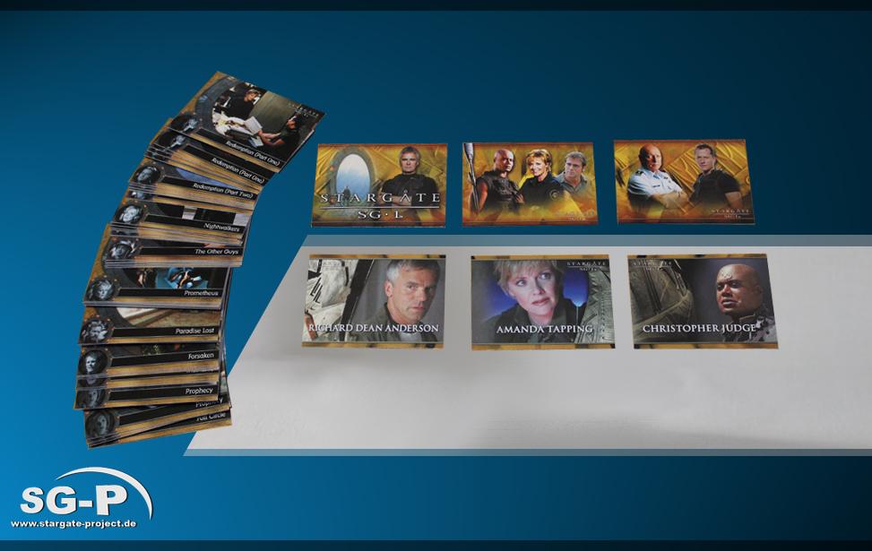 Stargate: SG-1 Trading Cards Season 6