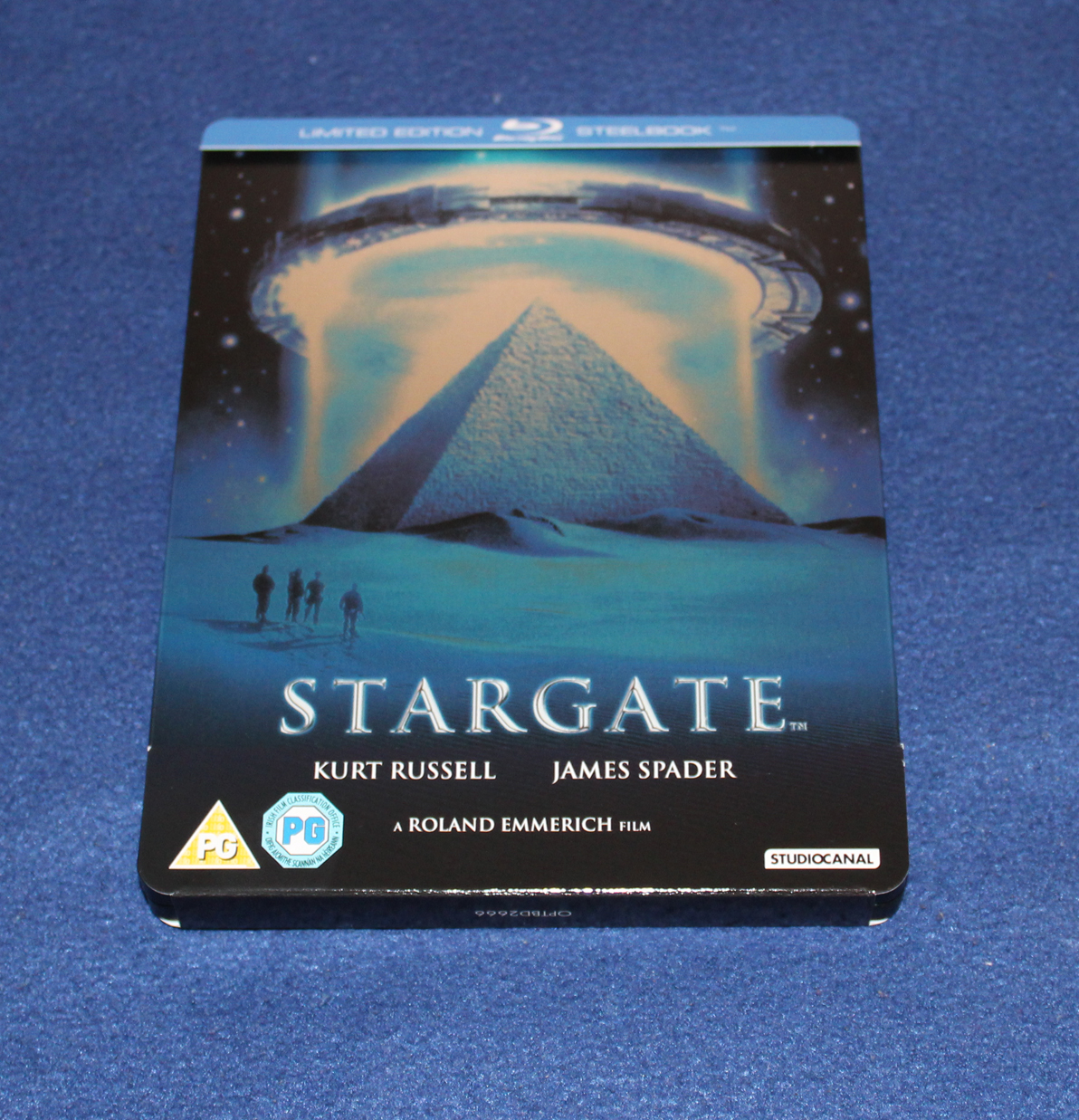 Stargate 20th Anniversary Edition - Exclusive Limited Edition Steelbook - 001