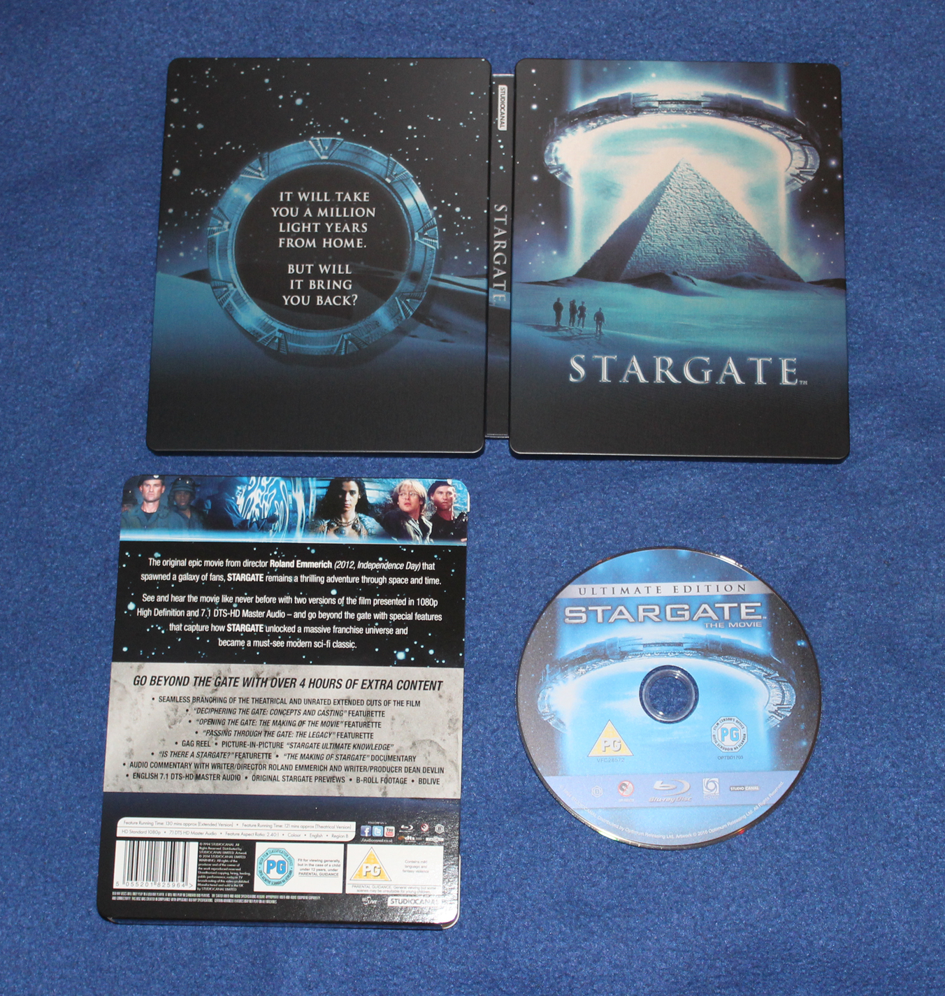 Stargate 20th Anniversary Edition - Exclusive Limited Edition Steelbook - 007