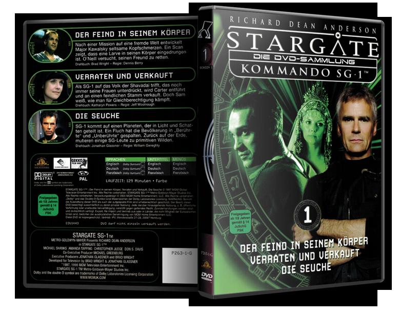 Stargate - DVD-Magazin-Sammlung - 1