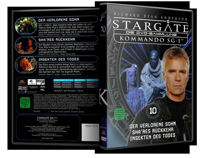 Stargate - DVD-Magazin-Sammlung - 10
