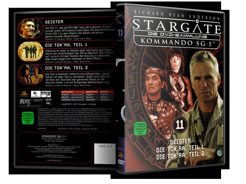 Stargate - DVD-Magazin-Sammlung - 11