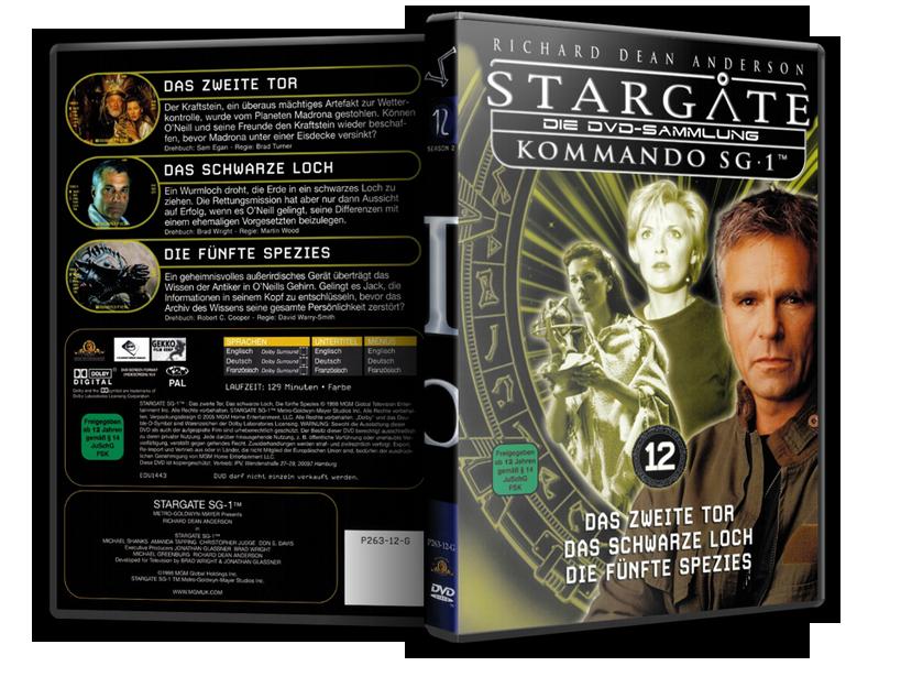 Stargate - DVD-Magazin-Sammlung - 12