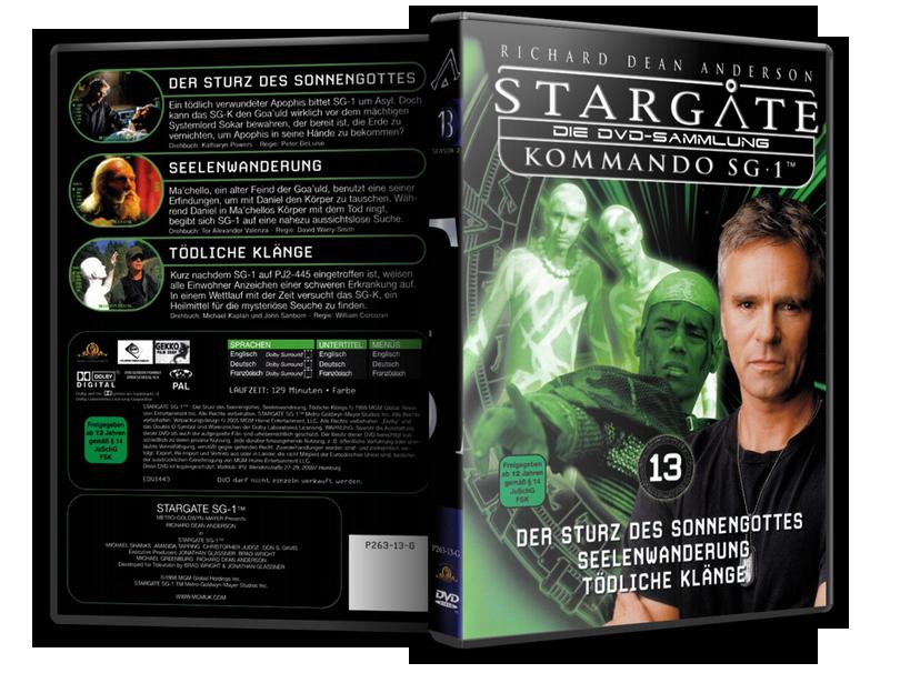 Stargate - DVD-Magazin-Sammlung - 13