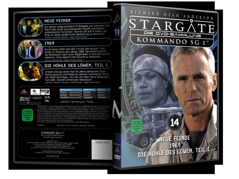 Stargate - DVD-Magazin-Sammlung - 14