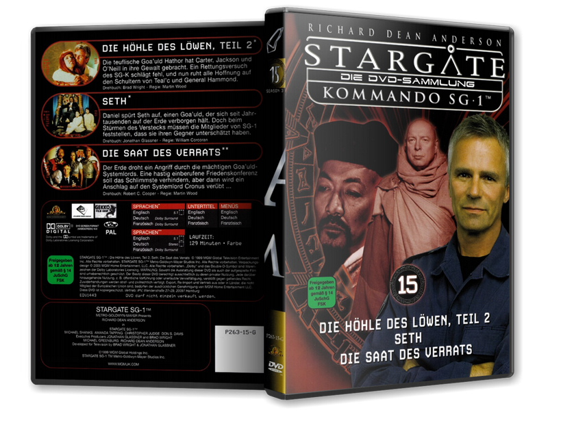 Stargate - DVD-Magazin-Sammlung - 15