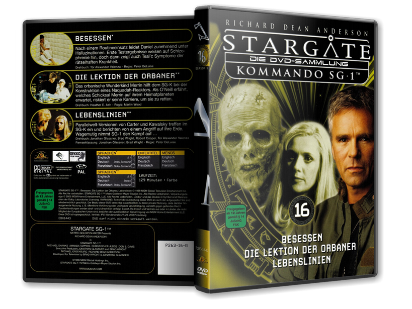 Stargate - DVD-Magazin-Sammlung - 16