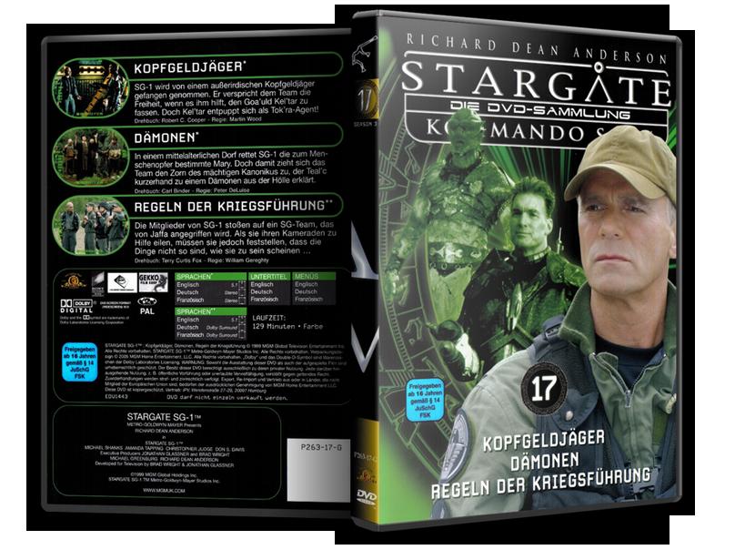 Stargate - DVD-Magazin-Sammlung - 17
