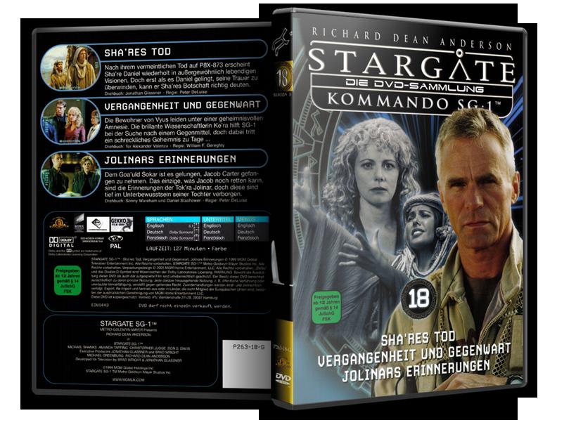 Stargate - DVD-Magazin-Sammlung - 18
