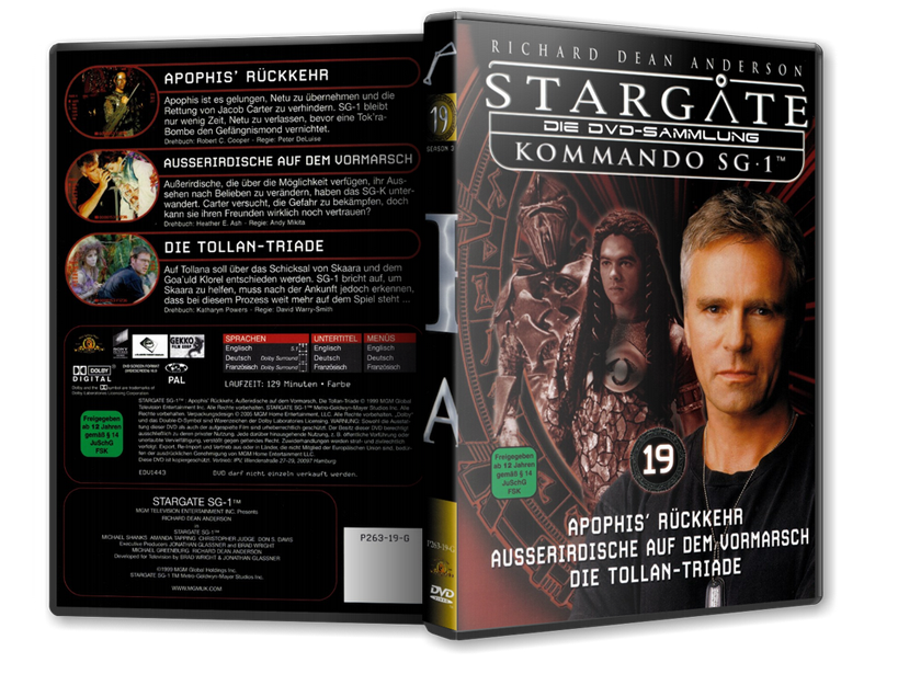 Stargate - DVD-Magazin-Sammlung - 19