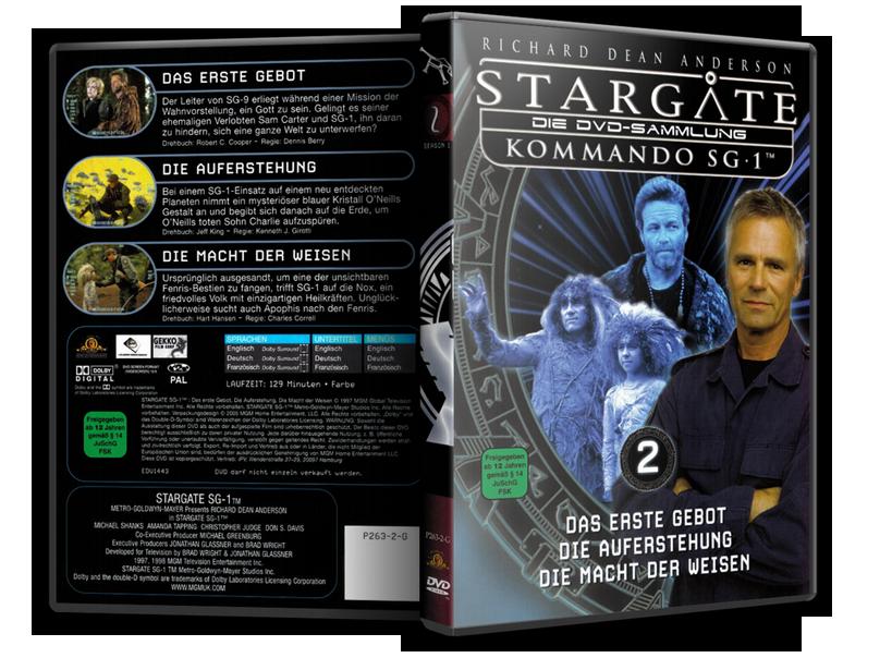 Stargate - DVD-Magazin-Sammlung - 2