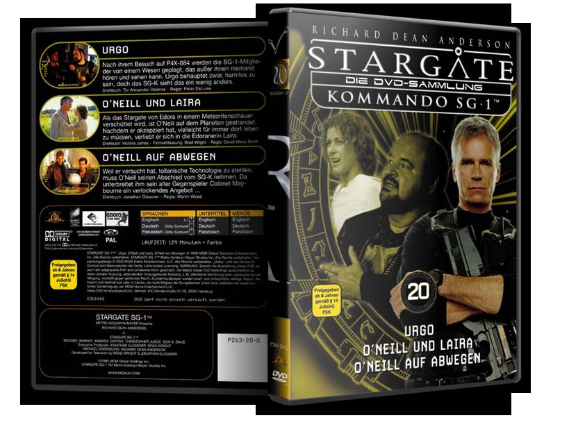 Stargate - DVD-Magazin-Sammlung - 20