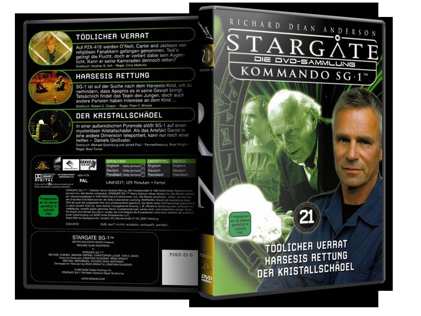 Stargate - DVD-Magazin-Sammlung - 21