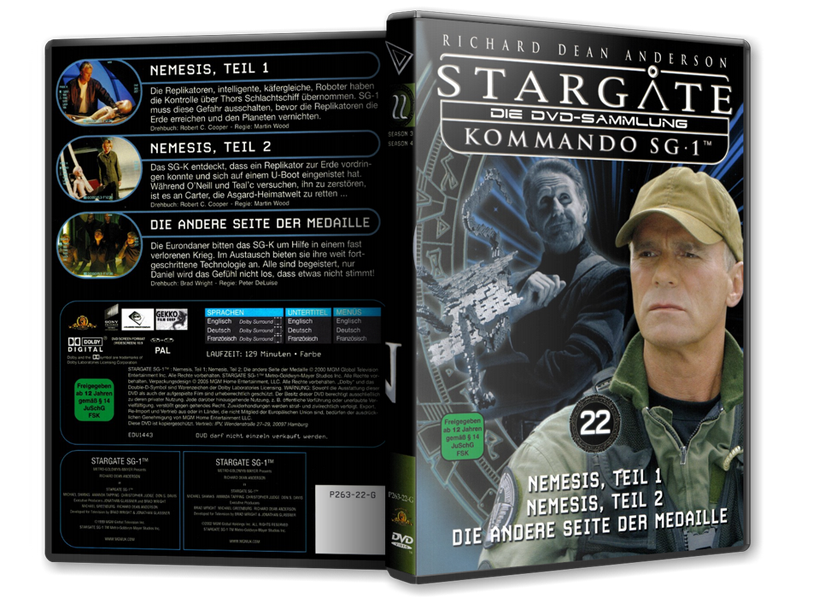 Stargate - DVD-Magazin-Sammlung - 22