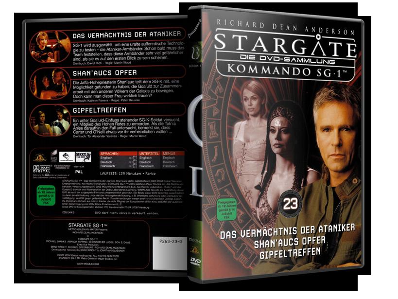 Stargate - DVD-Magazin-Sammlung - 23
