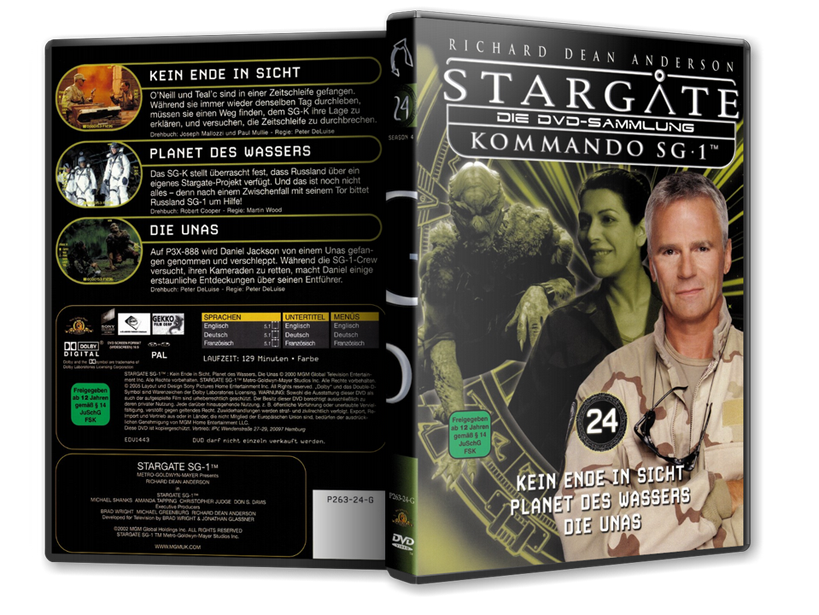 Stargate - DVD-Magazin-Sammlung - 24