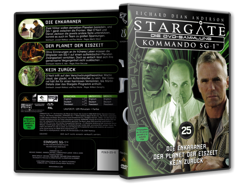Stargate - DVD-Magazin-Sammlung - 25