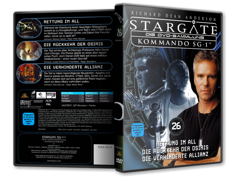 Stargate - DVD-Magazin-Sammlung - 26