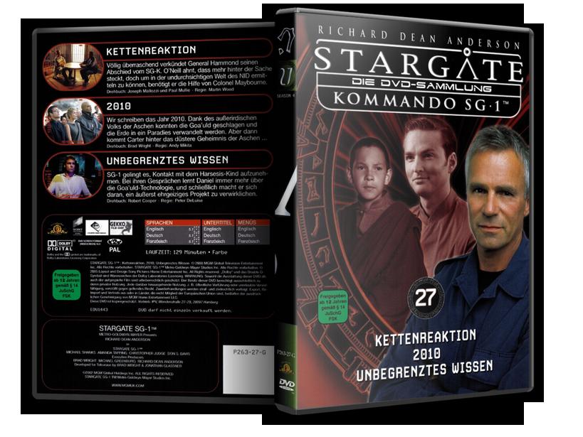 Stargate - DVD-Magazin-Sammlung - 27