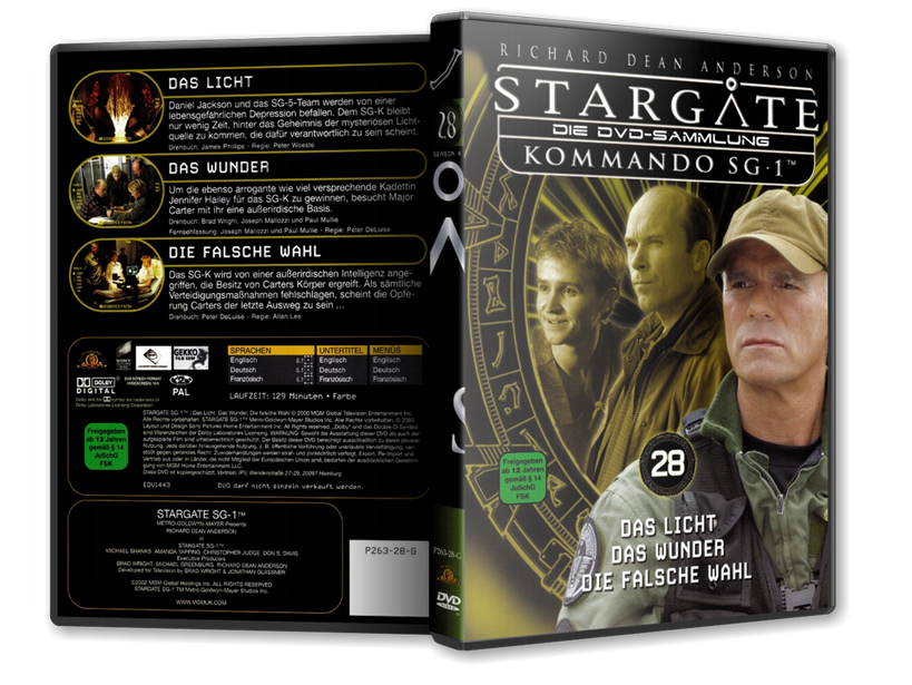 Stargate - DVD-Magazin-Sammlung - 28