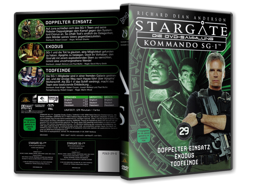 Stargate - DVD-Magazin-Sammlung - 29