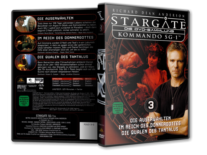 Stargate - DVD-Magazin-Sammlung - 3
