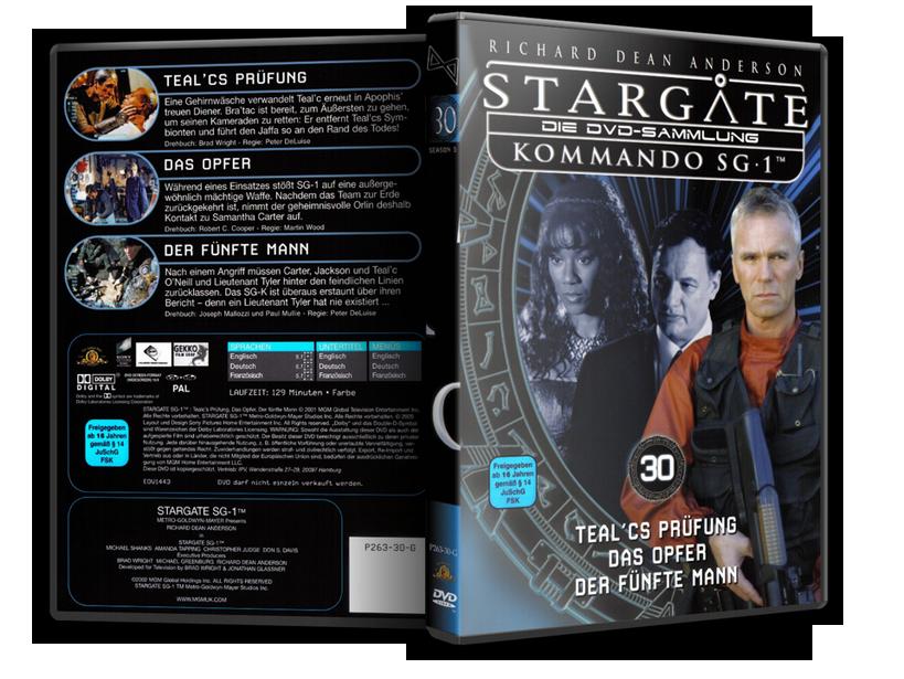 Stargate - DVD-Magazin-Sammlung - 30