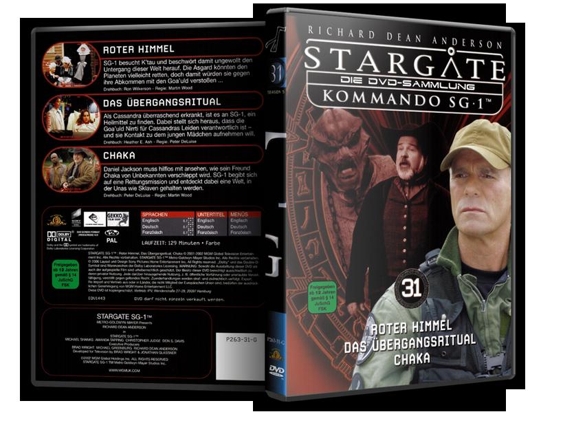 Stargate - DVD-Magazin-Sammlung - 31