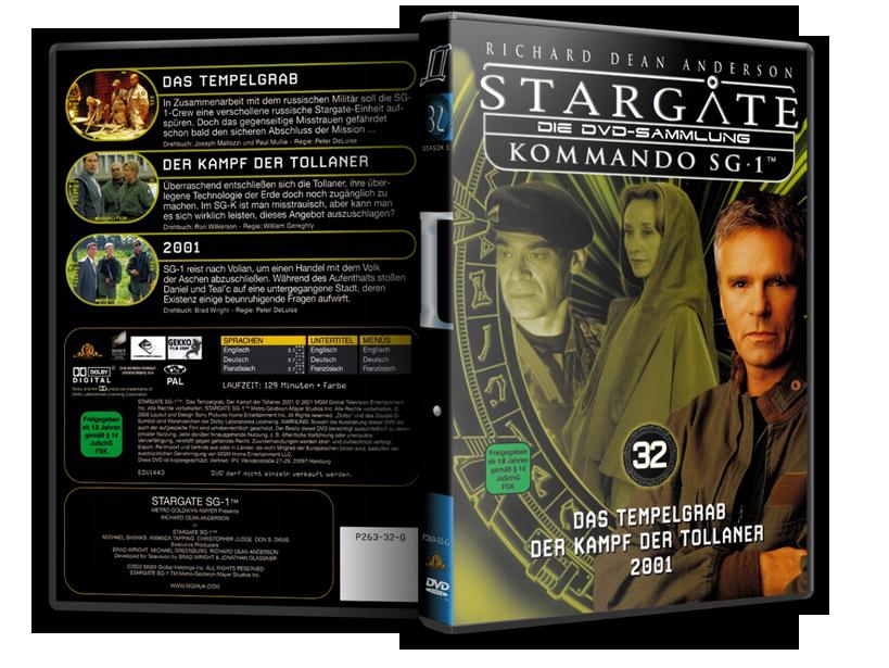 Stargate - DVD-Magazin-Sammlung - 32