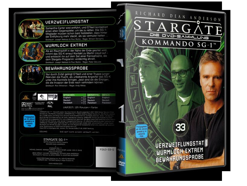 Stargate - DVD-Magazin-Sammlung - 33