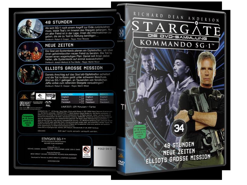Stargate - DVD-Magazin-Sammlung - 34