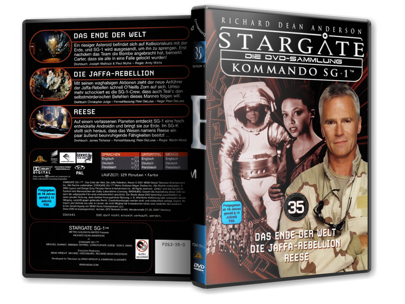Stargate - DVD-Magazin-Sammlung - 35